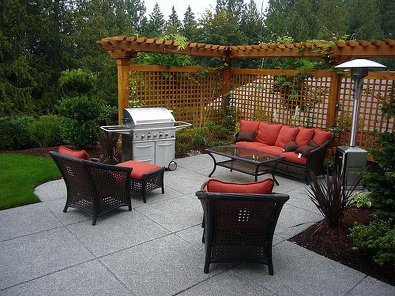 How To Build DIY Concrete Patio In Easy Steps - Backyard concrete patio ideas