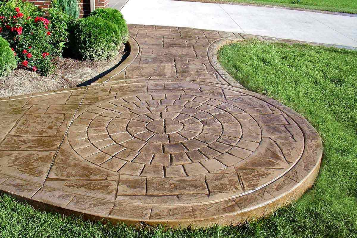 curved concrete patio twin falls idaho