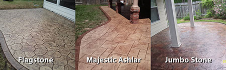 Stamped concrete designs twin falls idaho